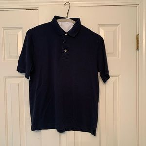 Men's Navy Polo by Lands End